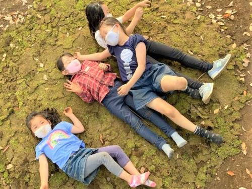 苔の上は土足禁止です!寝るからね♡